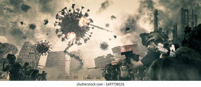 Corona virus war, Covid-19 and people's war