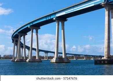Coronado Bridge in San Diego
