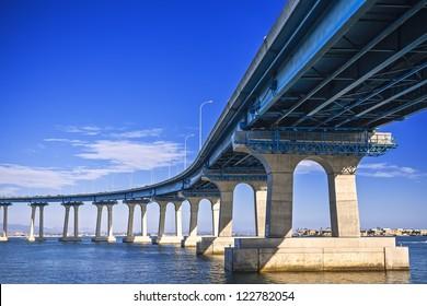 coronado bridge in San Diego, California
