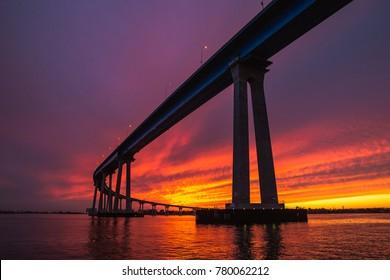 Coronado Bridge Sunset