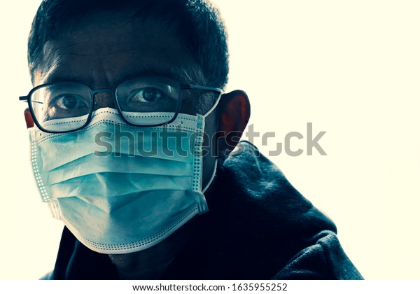face mask surgical virus