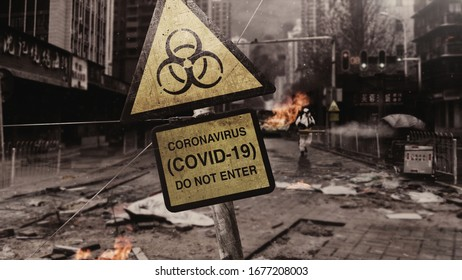 CORONAVIRUS (COVID-19) - APOCALYPTIC CITY WUHAN (closer)