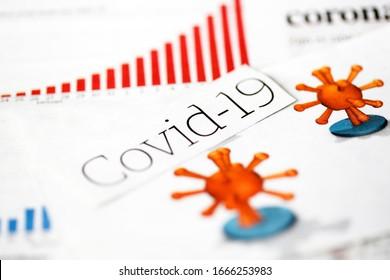 Coronavirus, 19 ans, titres de journaux.  Baisse de la Bourse