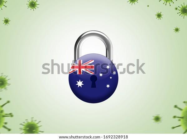 ロック ダウン オーストラリア