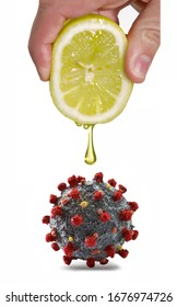Coronavirus natural lemon prevention treatment