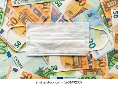 Récession de Coronavirus - billets de banque 2020.