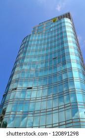 Corporate Building Facade