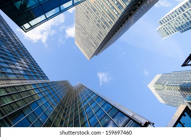 Corporate building Financial Skyscrapers in the Canary Wharf, City of London