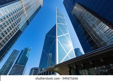 Corporate Buildings in Hong Kong
