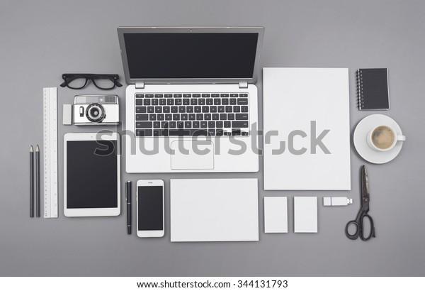 corporate identity design template / mockup