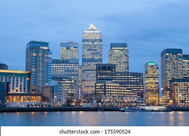Corporate Office building in Canary Wharf, London