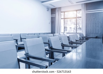 corporate office chairs in a boardroom