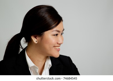 Corporate themed image of a business woman