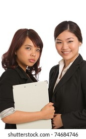 Corporate themed image of business women