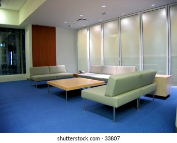 corporate waiting room