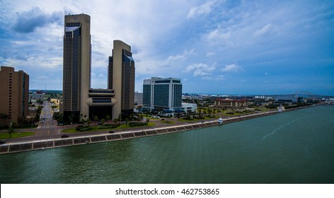 Corpus Christi Texas Bayfront colorful Summer time tropical getaway on the gulf of mexico