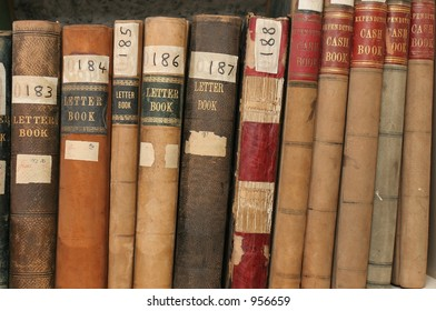 Correspondence and finance records in company archives