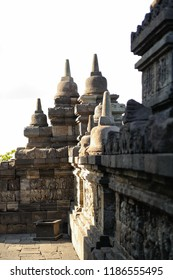 Corridor of Borobudur Temple, Jogja, Indonesia 5