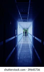 Corridor of the business center
