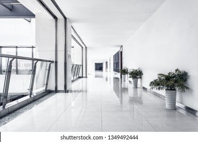 Corridor with closet in room