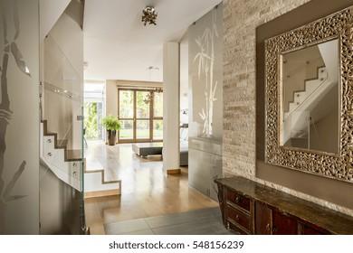 house entrance interior design. Corridor of elegant house with luxurious design Home Entrance Images  Stock Photos Vectors Shutterstock