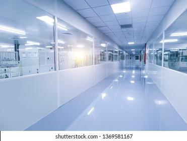 Corridor of Modern Dust-proof Factory