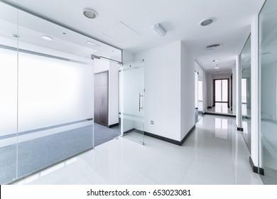 Corridor in a modern office