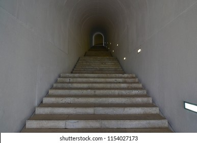 Corridor with stairs