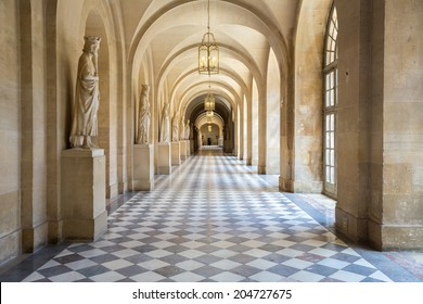 Corridor of Versailles Chateau Palace Paris France