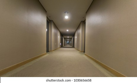 A corridor without anyone