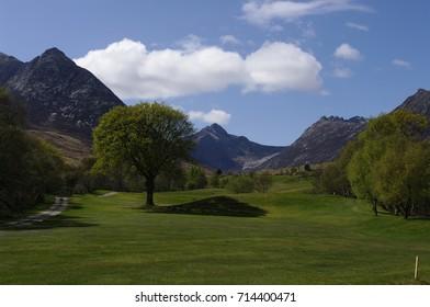 Corrie Golf course,Glen Sannox, Isle of Arran,Scotland