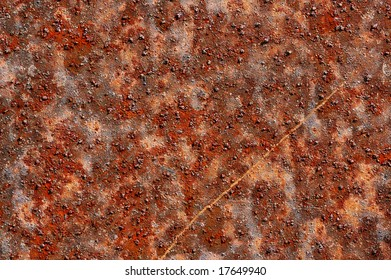 corroded rusty texture of metal