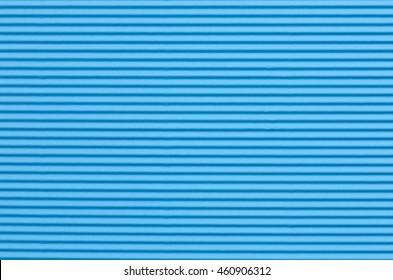 corrugated blue color paper background texture