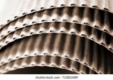 corrugated card board