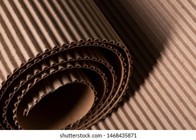 Corrugated+cardboard+roll Images, Stock Photos & Vectors