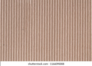 Corrugated cardboard or brown paper box sheet texture for background