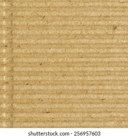 Corrugated cardboard goffer paper texture rough old recycled goffered textured blank empty grunge copy space background aged grungy macro closeup taupe brown tan yellow beige detail vintage pattern