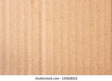 Corrugated cardboard texture, horizontal, no vignette