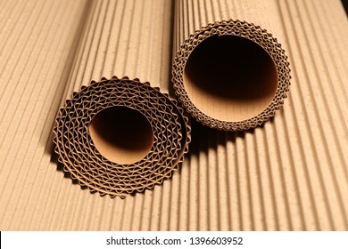 corrugated cardboard textures and products for advertising and design