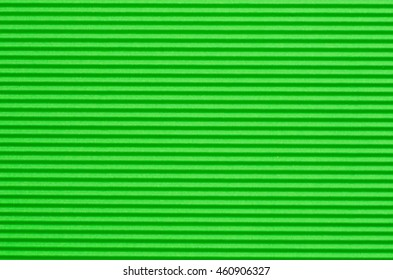 corrugated green color paper background texture