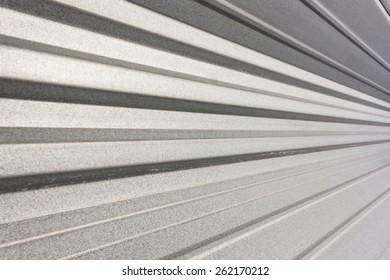 Corrugated industrial Facade