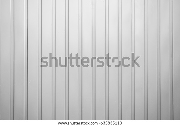Corrugated Metal Fence Stock Photo (Edit Now) 635835110
