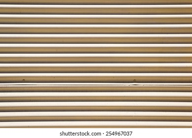 Corrugated metal - pattern / background