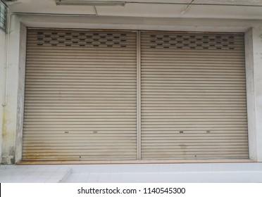 Corrugated metal sheet,slide door,metal door