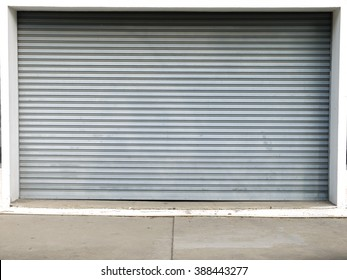 corrugated metal sheet,white Slide door ,roller shutter texture