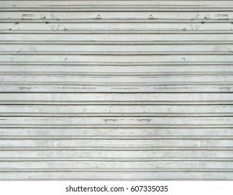 Corrugated metal siding door texture