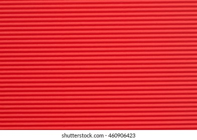corrugated red color paper background texture