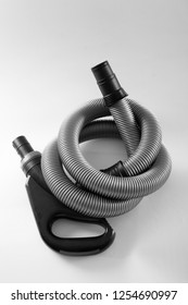 Corrugated Tube for Vacuum Cleaner on white background