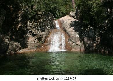 Corse / Polischellu cascades
