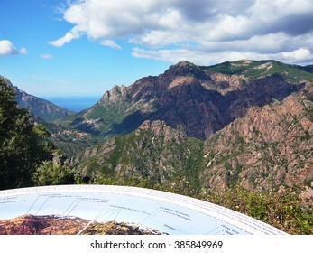 Corsica-outlook at the Spelunca Canyon